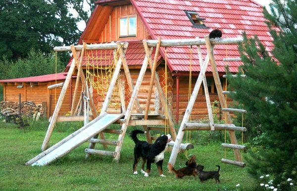 детские игровые площадки фото