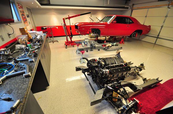 dizajn vnutri garazha