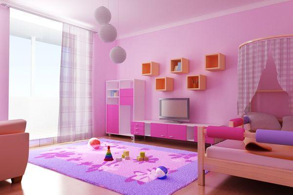 Фото детской для девочки
