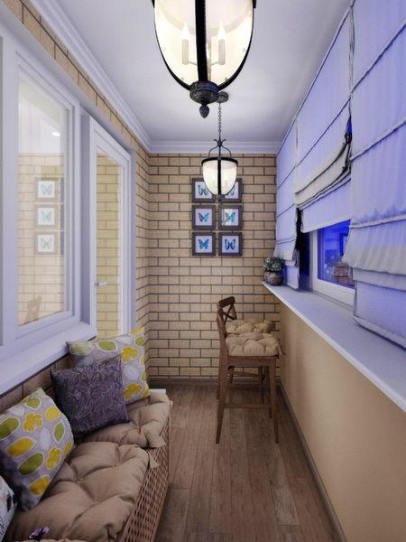 Интерьер балкона фото
