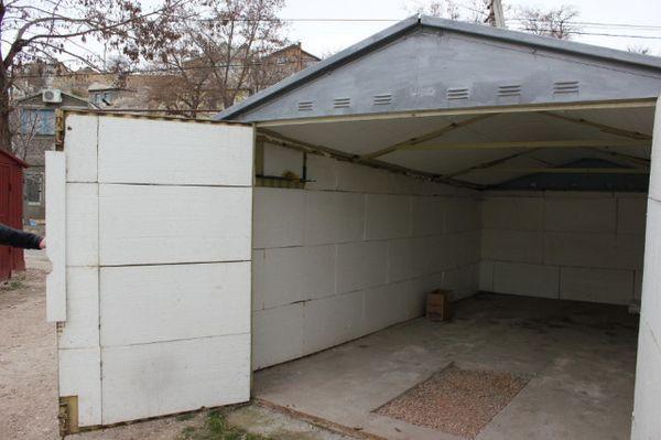 как утеплить гараж