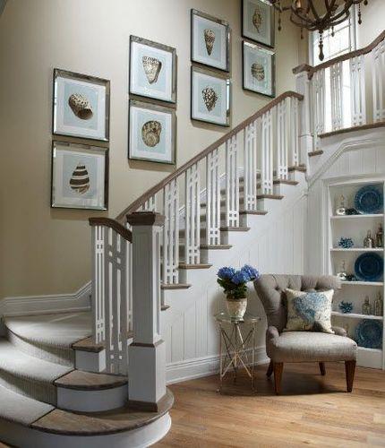 фото лестницы с поворотом