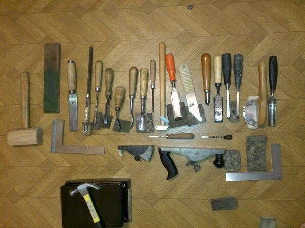 набор столярных инструментов
