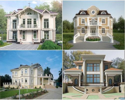 дома в классическом стиле