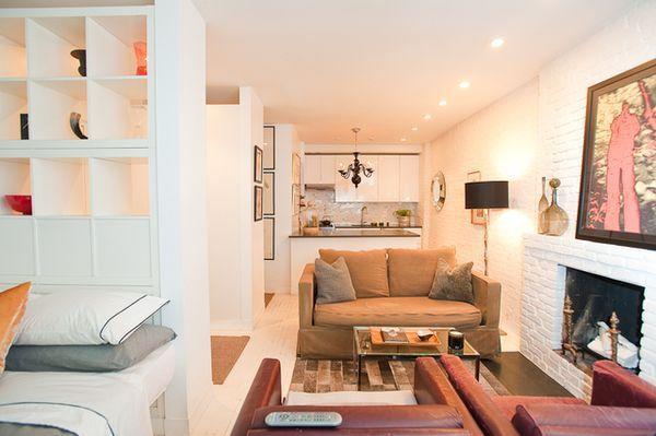 оформление однокомнатной квартиры фото