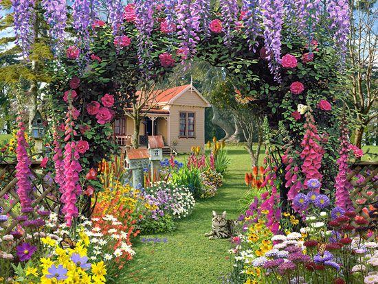 Фото загородных коттеджей