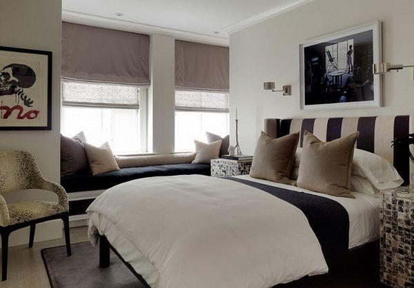 фото серых штор