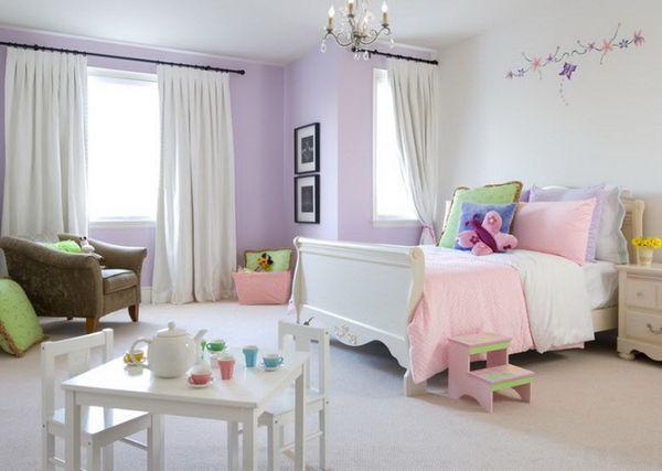 шторы для комнаты девочки