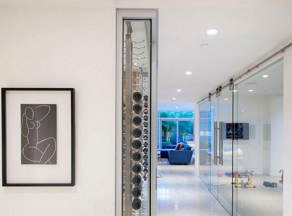 межкомнатные стеклянные двери