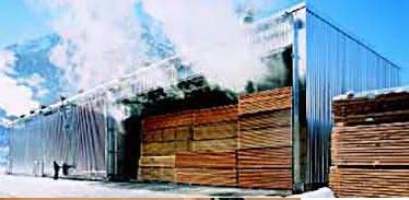 sushilnie ustanovki dlya drevesini  kirpicha i keramiki