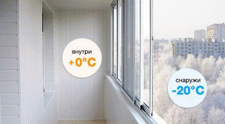 teploe i holodnoe osteklenie balkona 3