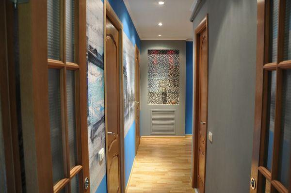 интерьер коридора фото