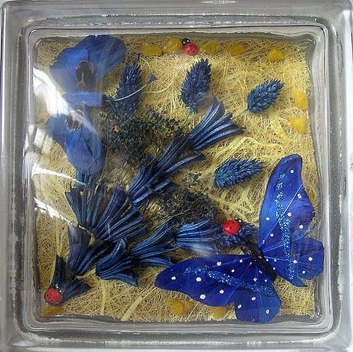 vitrazhnie dekorativnie steklobloki cvetnie i s ukrasheniem vnutri 24
