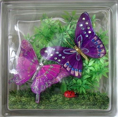 vitrazhnie dekorativnie steklobloki cvetnie i s ukrasheniem vnutri 27