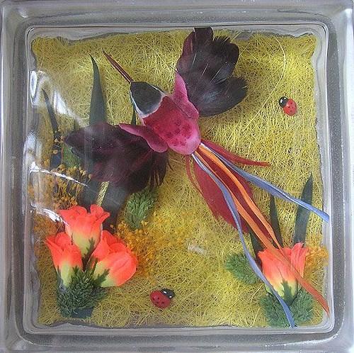 vitrazhnie dekorativnie steklobloki cvetnie i s ukrasheniem vnutri 31