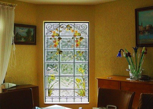 vitrazhnie dekorativnie steklobloki cvetnie i s ukrasheniem vnutri 51