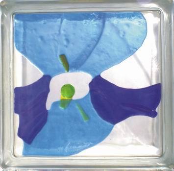 vitrazhnie dekorativnie steklobloki cvetnie i s ukrasheniem vnutri 63