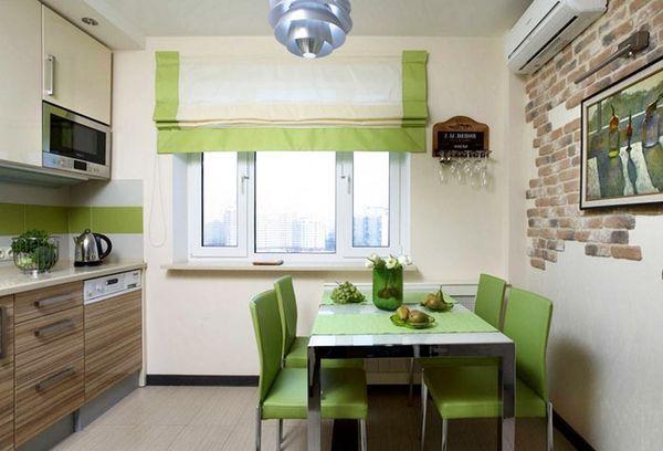 фото зеленых штор