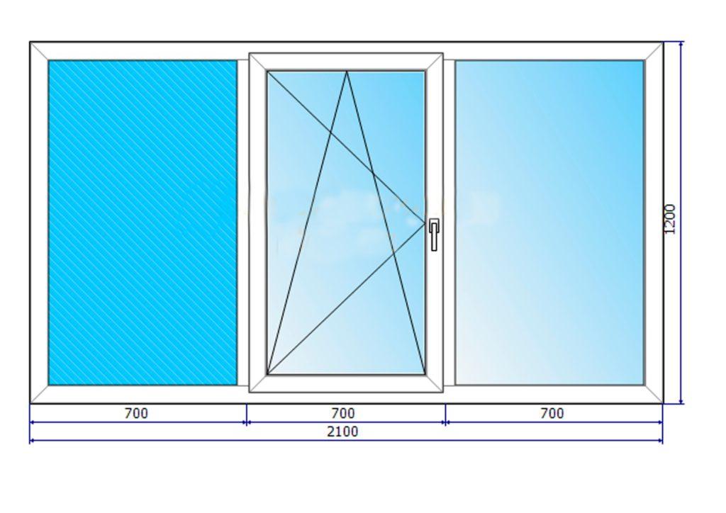 Как подобрать размер пластиковых окон?