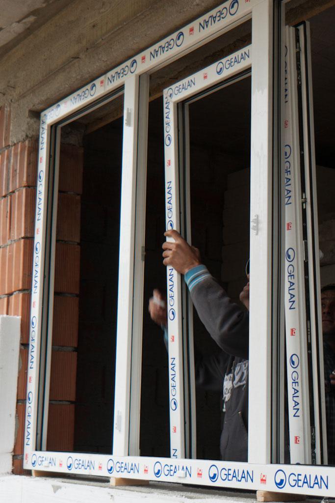 правильно установленное пластиковое окно