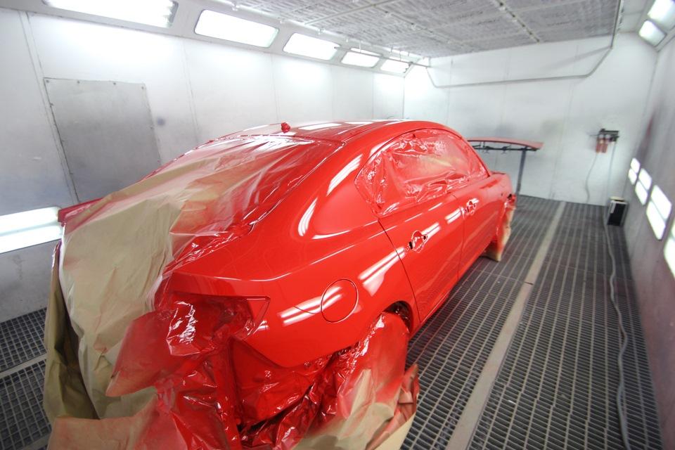 Кузовные работы и покраска автомобиля