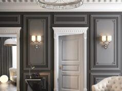 Дверь, как элемент роскошного интерьера квартиры