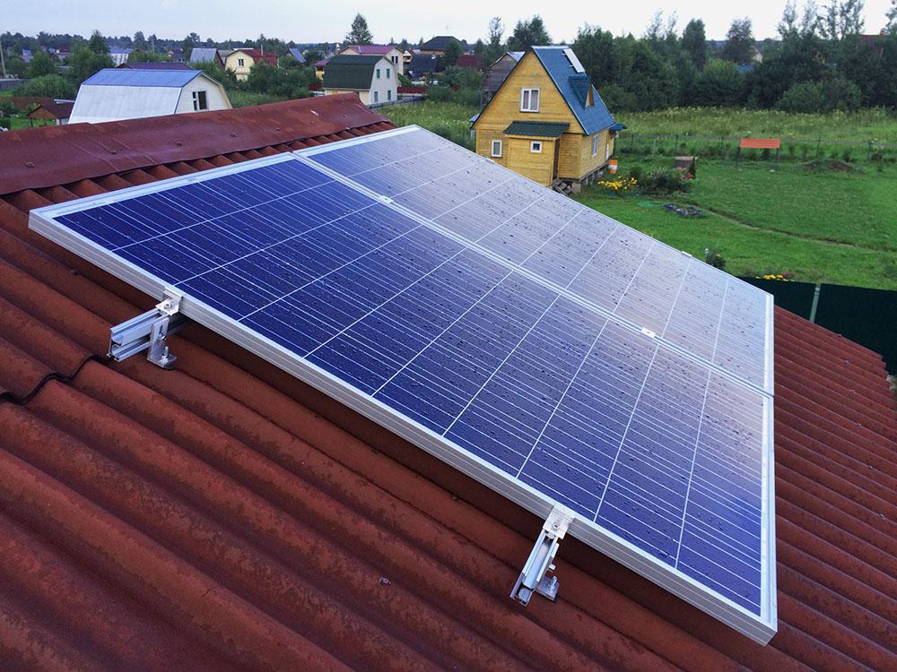 Использование солнечных батарей в строительстве