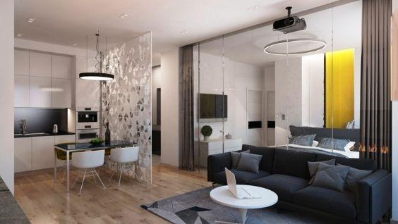 Кухня студия: фото, дизайн интерьера, расстановки мебели