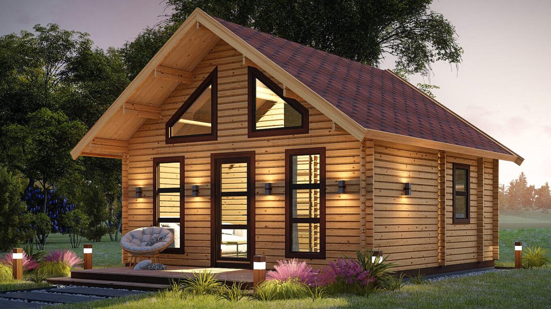 Строительство домов из дерева