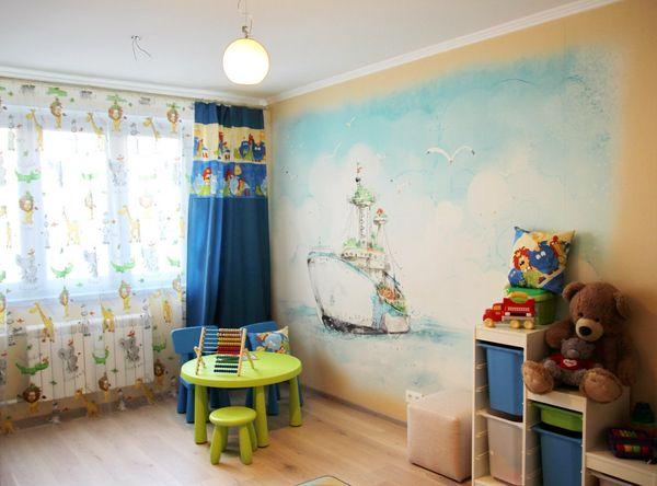 детские комнаты фото