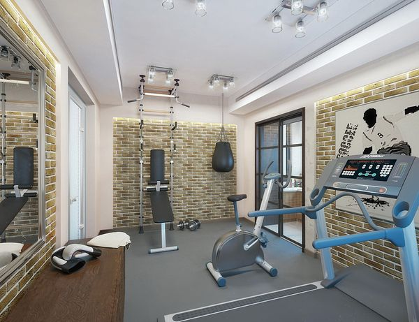 спортивная комната