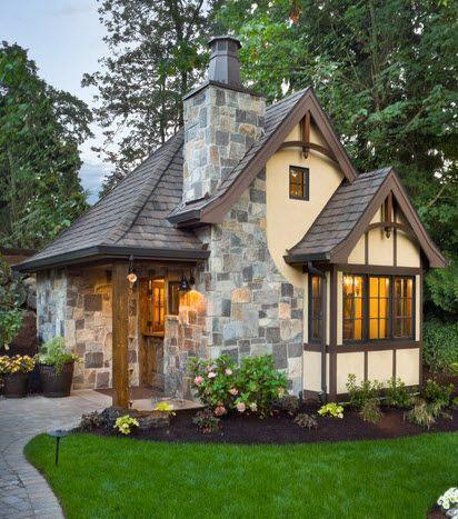 фото загородных домов