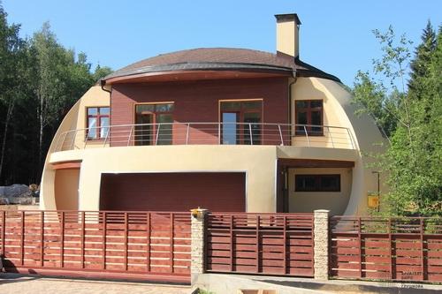 шаровидный дом