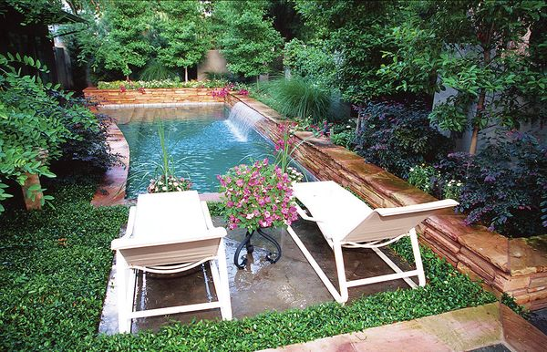 фото бассейнов на даче